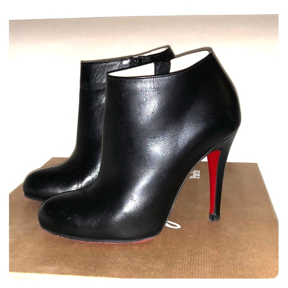 timeless design c31c8 7ccbb Christian Louboutin Black Belle 100